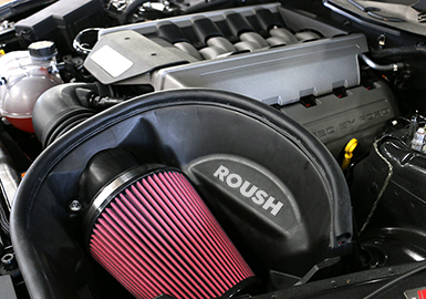 Roush Cold Air Intake Kit, 2015-17 Mustang 5.0L
