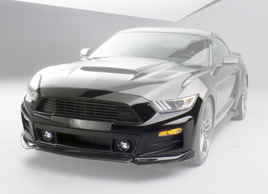 Roush Front Fascia Complete kit, 2015-17 Mustang - Oxford White YZ