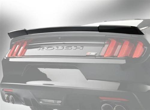 Roush Rear Spoiler - Black, 2015+ Mustang 5.0L / 3.7L / 2.3L