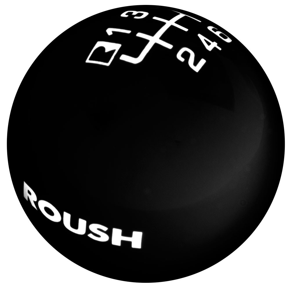 Roush Shift Knob - Black, 2015+ Mustang 5.0L / 3.7L / 2.3L