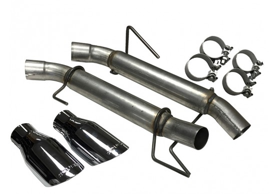 Roush Extreme Axle back exhaust, 2005-10 Mustang GT and GT500