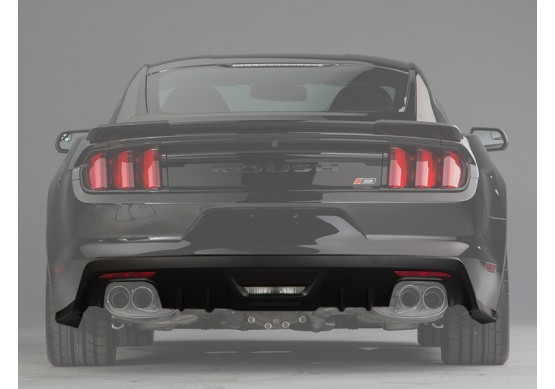 ROUSH Rear Fascia Valance for Rear Back-Up Sensors, Active Exhaust