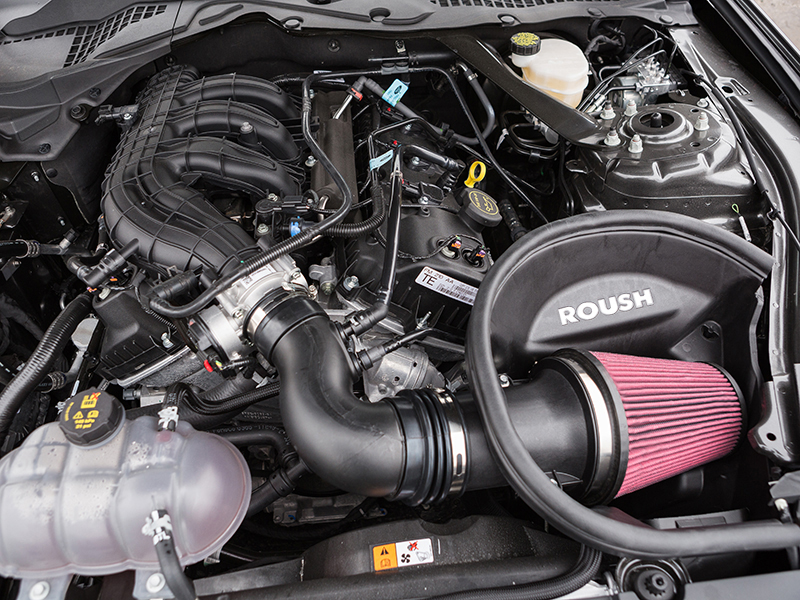 Roush Power Pack Level 1 Intake and Tune - 2015-17 Mustang V6