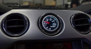 Roush Gauge Pod for center vent, 2015+ Mustang