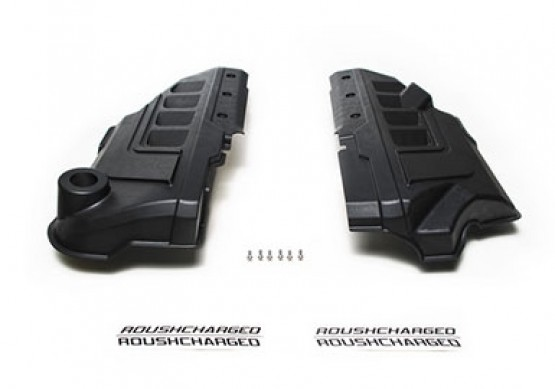Roush supercharger coil covers, 2018-2019 Mustang GT