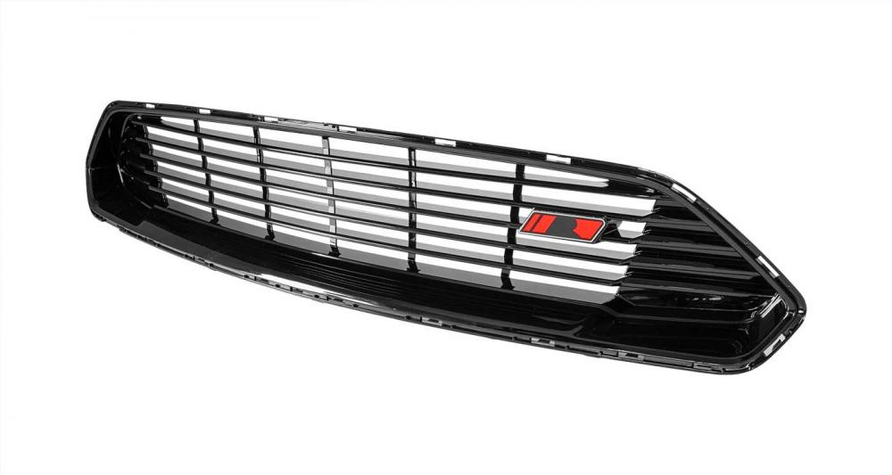 Roush Front Grille, upper with R badge, 2018+ Mustang