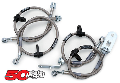 Russell Steel Braided Brake Lines 2005+ Mustang, GT500, Boss, 5.0 (4 Lines)