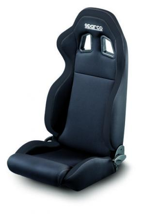 Sparco R100 Street Race Recliner seat, black cloth