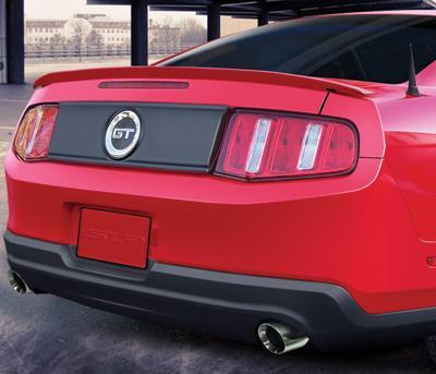 SLP Rear blackout panel, keeps emblem 2010+ Mustang