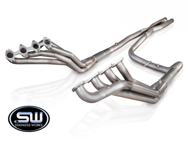 Stainless Works Ford F-150 Headers 2004-08 Headers: Off-Road X-Pipe