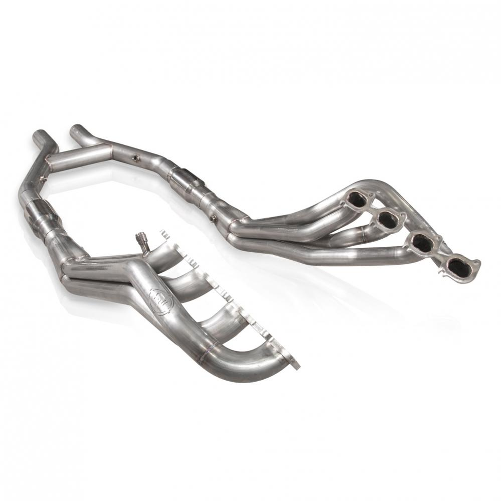 Stainless Works Ford Shelby GT500 2007-14 Headers: Catted H-Pipe