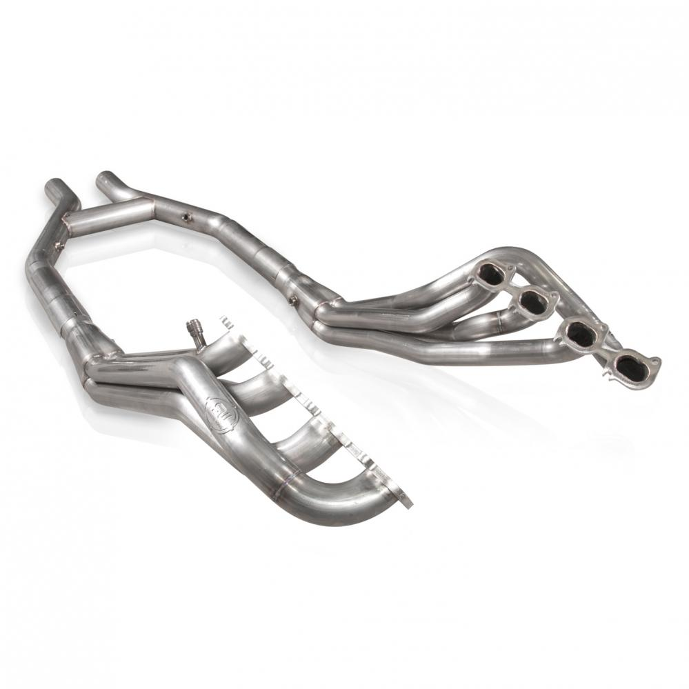 Stainless Works Ford Shelby GT500 2007-14 Headers: Off-Road H-Pipe