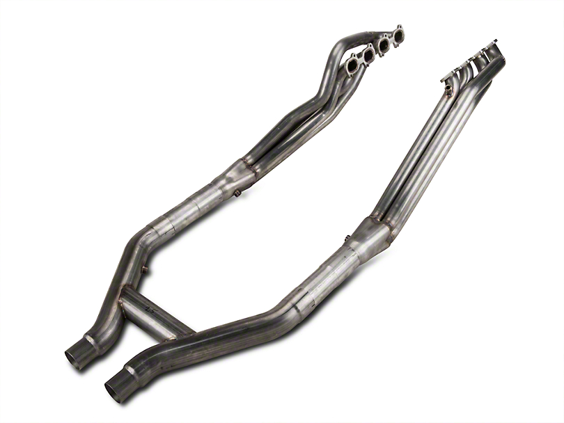 Stainless Works Ford Shelby GT500 2007-10 Headers: Off-Road H-Pipe