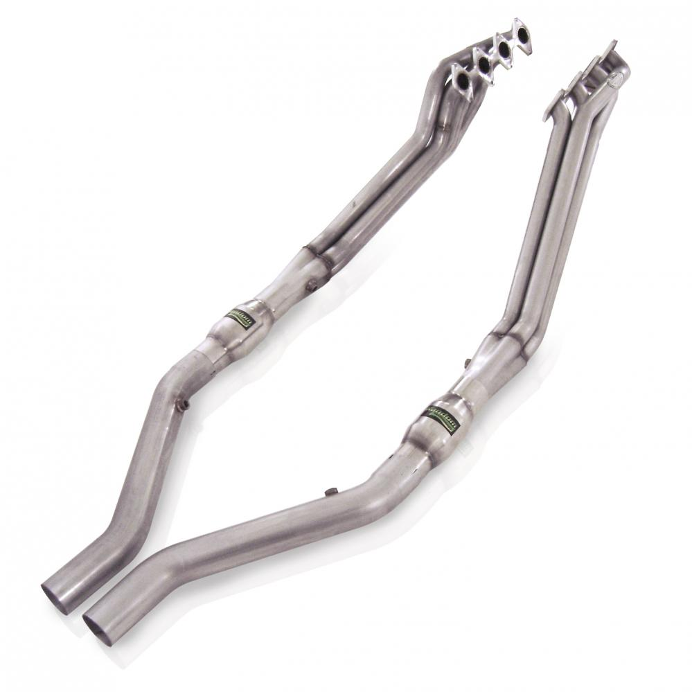 Stainless Works Ford Mustang 2005-10 Headers: 1 5/8 Catted Leads