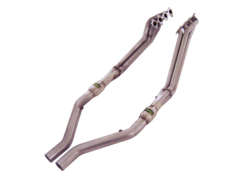 Stainless Works Ford Mustang 2005-10 Headers: 1 3/4 Catted Leads