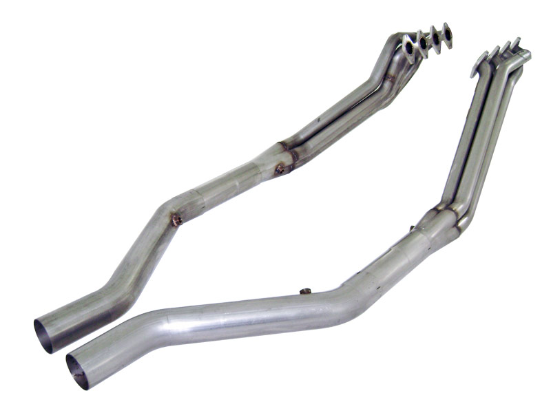 Stainless Works Ford Mustang 2005-10 Headers: 1 3/4 Off-Road X-Pipe