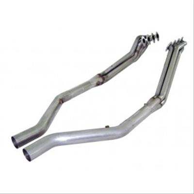 Stainless Works Ford Mustang 2005-10 Headers: 1 5/8 Off-Road X-Pipe