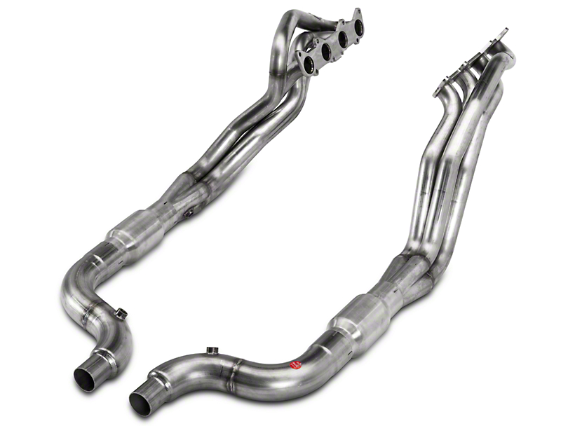 Stainless Power 1 7/8 Headers with catted pipe, 2015+ Mustang GT