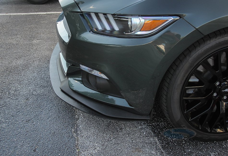 Steeda Front Splitter, 2015-2017 Mustang with performance pack nose