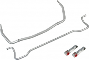 Steeda Swaybar kit, front and rear with billet links, 2005-10 Mustang, GT500