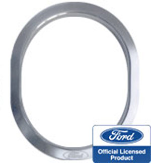 Steeda Billet Shifter Bezel 94-04 w/Ford Logo