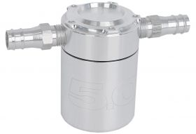 Steeda Oil Separator, Billet no Logo, 79-14 Mustang