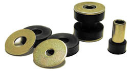 Steeda IRS Urethane differential brace bushings, 99-04 cobra