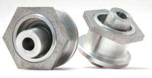 Steeda Spherical Upper Control Arm Bushings at Differential, 1979-04 Mustang