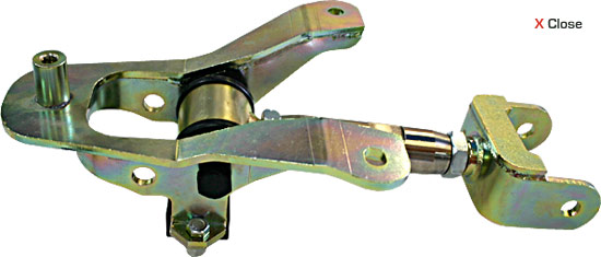 Steeda Upper Control arm, adj Comp/ Street w/bracket, 2005-10 Mustang