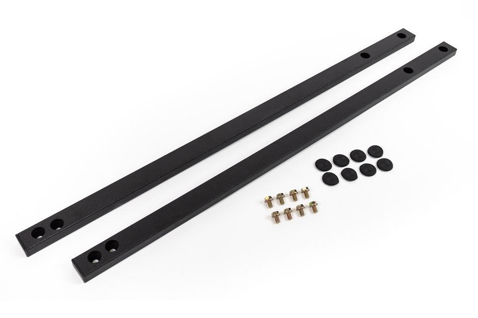 Steeda S550 Full-Length, Ultra-Lite Jacking Rail, 2015-19 Mustang Fastback