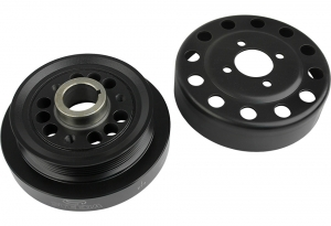 Steeda Underdrive Pulleys, 2pce, 2005-10 Mustang GT