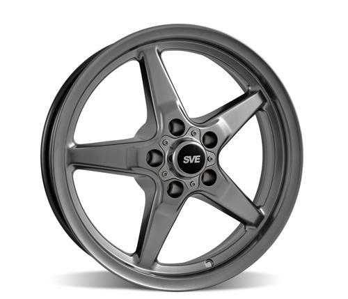 SVE Drag Wheel, front skinny 17x4.5, 5x4.5\