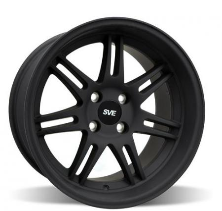 SVE 10th Anniversary Wheel, 17x9 Anthracite, 1994-2004 Mustang 5 lug