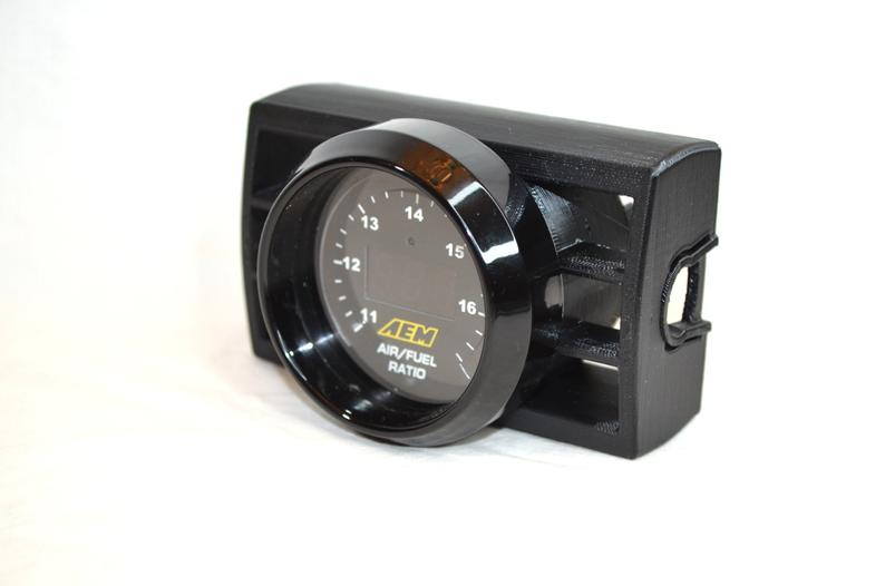 Center Vent Gauge Pod for 2 1/16\