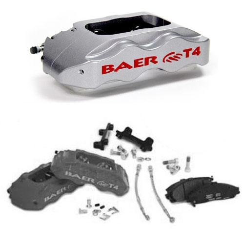 BAER TRACK-4 UPGRADE Silver, front, 94+ 13\
