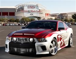 TruFiber Venom Hood, 2010-13 GT500 and 2013 Mustang GT/V6