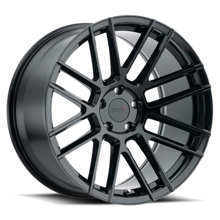 TSW Mosport, 18x9.5, black, 5x4.5 20ET
