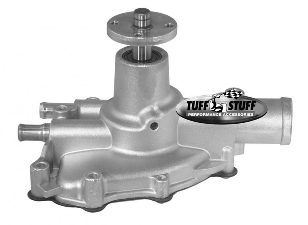Tuff Stuff Supercool Water Pump, 1986-93 Mustang reverse rotation, aluminum