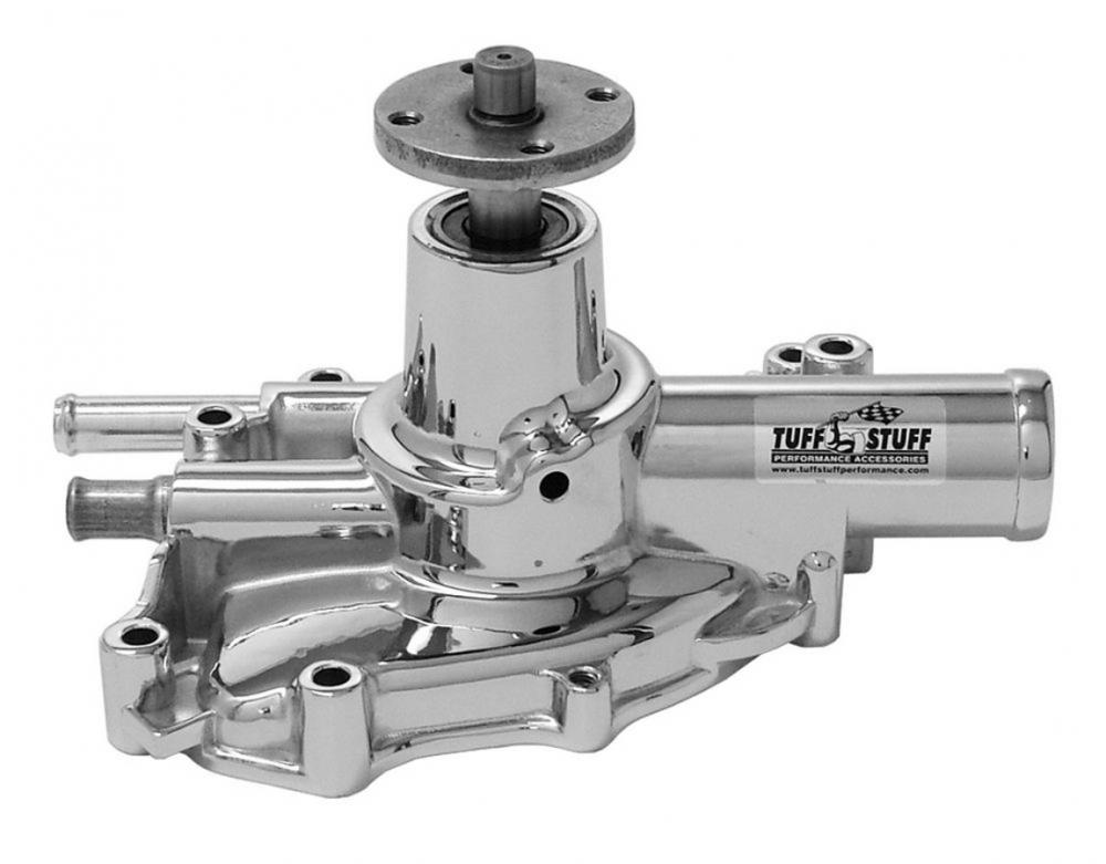 Tuff Stuff Supercool Water Pump, 1986-93 Mustang reverse rotation, polished