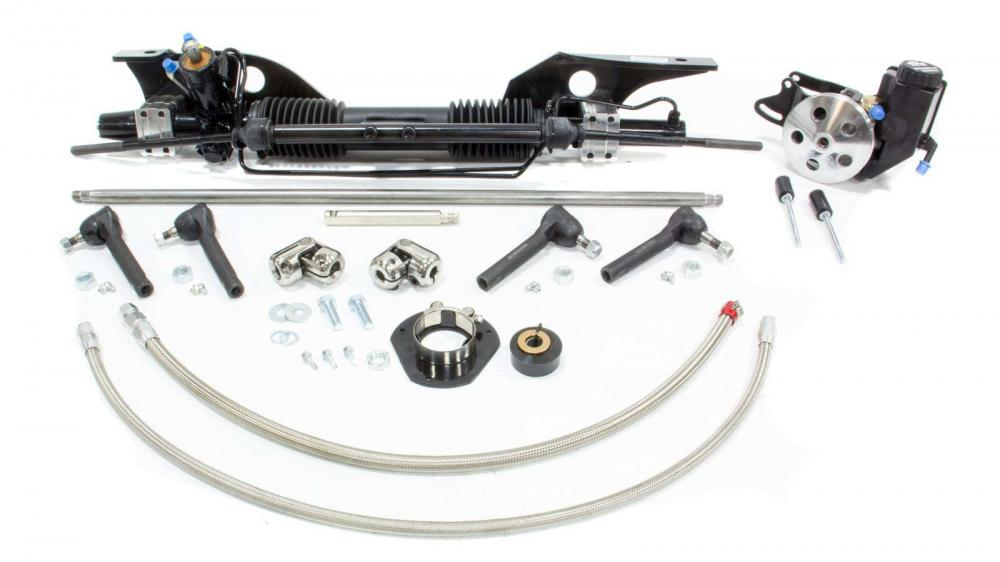 Unisteer Rack and Pinion kit, early 1967 Mustang (Small Block)
