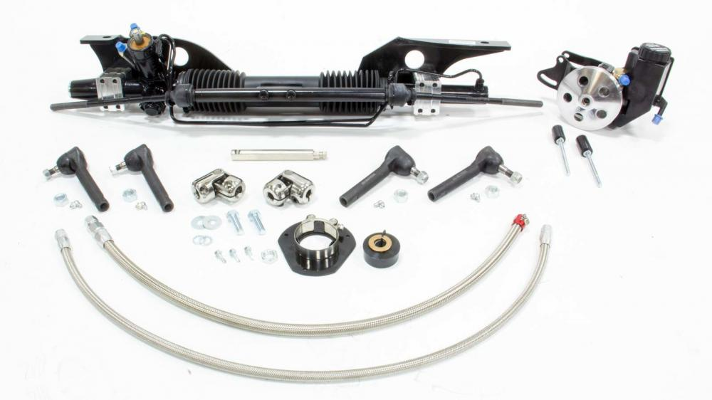 Unisteer Rack and Pinion kit, 1967-70 Mustang (Small Block)