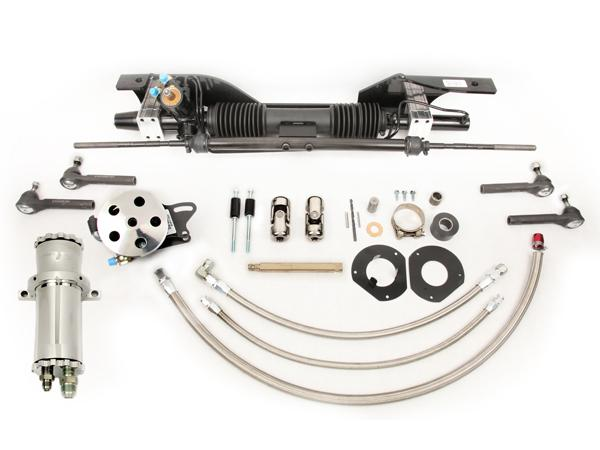 Unisteer Rack and Pinion kit, 1967-70 Mustang (Small Block w/Factory Air)
