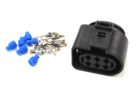 Connector and pins for Bosch O2 sensor (0258007057)