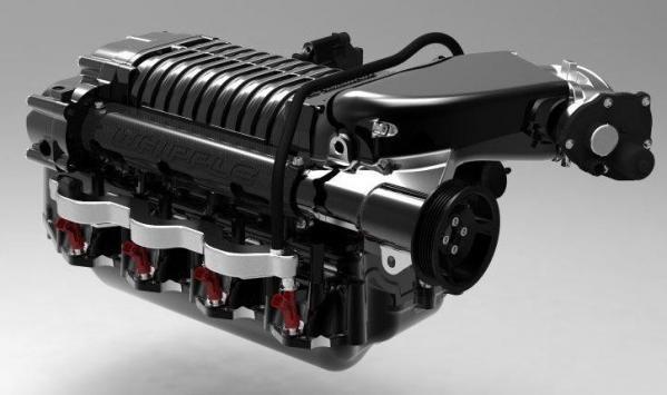 Whipple Superchargers 2.9L Kit, 2010-14 Ford Raptor/F150 6.2L, Black