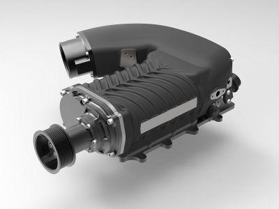 Whipple 3.0L Supercharger Gen 5, black, 2003-04 Cobra