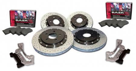 WMS Baer Eradispeed 14 brake kit, 2007-12 Shelby GT500, 11-14 Mustang Brembo