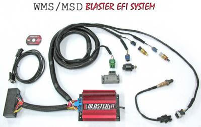 WMS / MSD Blaster EFI system w/ wideband O2 - plug in (1 System Only, New)