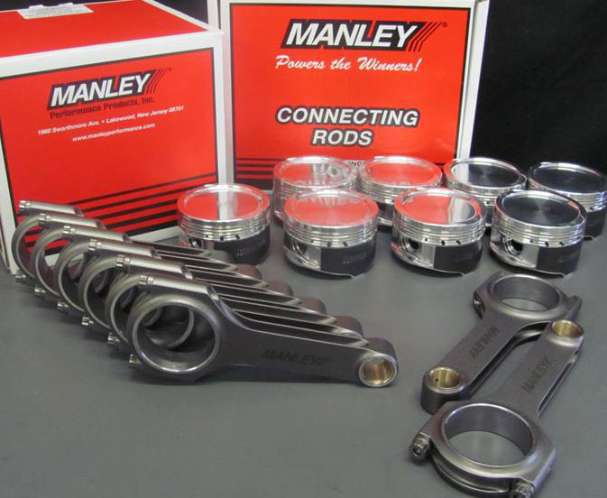 Pistons and Rods for Ford engines