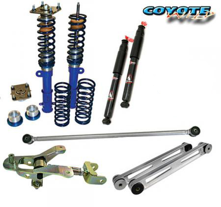 WMS Coyote Wild Track Suspension Package, 2011-2014 Mustang