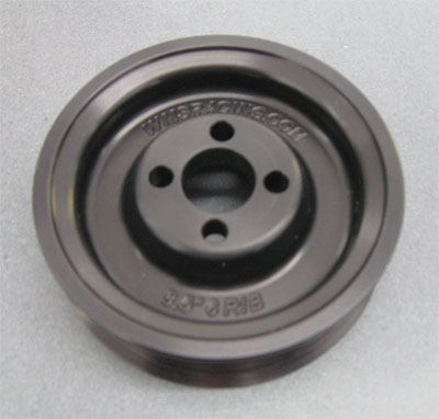 WMS Saleen Supercharger pulley, 3.5 6-7lbs boost, 2005-09 Mustang